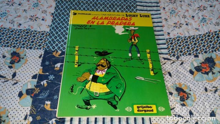 LUCKY LUKE 31 ALAMBRADAS EN LA PRADERA CASTELLANO (Tebeos y Comics - Grijalbo - Lucky Luke)