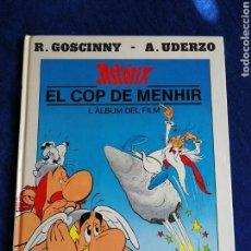 Comics: ASTERIX. EL COP DE MENHIR.ALBUM DEL FILM.EDICIONES JUNIOR.CATALÀ. Lote 169591414
