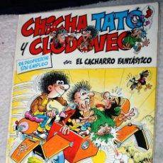 Cómics: CHICHA, TATO Y CLODOVEO Nº4 -- EL CACHARRO FANTASTICO. Lote 169681032