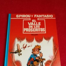 Cómics: SPIROU Y FANTASIO. EL VALLE DE LOS PROSCRITOS.ED JUNIOR. Lote 169913370