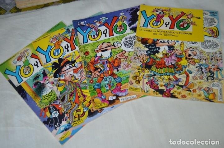 LOTE DE 4 TEBEOS/CÓMIC - YO Y YO - LOS PRIMEROS 4 EJEMPLARES - EDICIONES JUNIOR - ¡MIRA FOTOS! (Tebeos y Comics - Grijalbo - Otros)