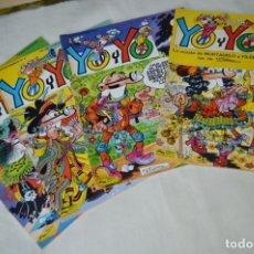 Cómics: LOTE DE 4 TEBEOS/CÓMIC - YO Y YO - LOS PRIMEROS 4 EJEMPLARES - EDICIONES JUNIOR - ¡MIRA FOTOS!. Lote 170209160