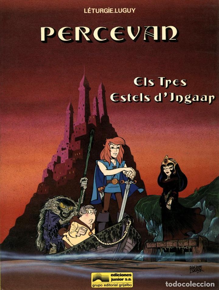 PERCEVAN-1: ELS TRES ESTELS D'INGAAR (JUNIOR, 1984) DE LÉTURGIE I LUGUY. EN CATALÀ. (Tebeos y Comics - Grijalbo - Percevan)