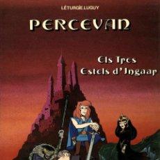 Cómics: PERCEVAN-1: ELS TRES ESTELS D'INGAAR (JUNIOR, 1984) DE LÉTURGIE I LUGUY. EN CATALÀ.. Lote 170316960