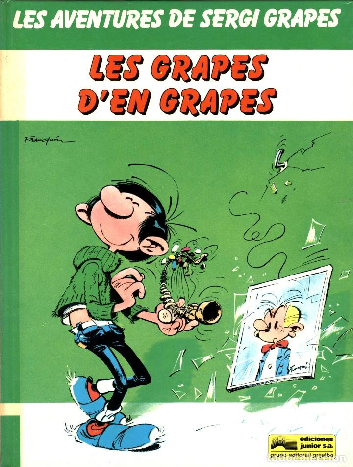 SERGI GRAPES-1: LES GRAPES D'EN GRAPES (JUNIOR, 1983) DE FRANQUIN. EN CATALÀ. (Tebeos y Comics - Grijalbo - Percevan)
