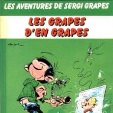 Comics : SERGI GRAPES-1: LES GRAPES D'EN GRAPES (JUNIOR, 1983) DE FRANQUIN. EN CATALÀ.. Lote 170317112