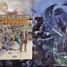 Comics : COMANCHE - Nº 12 EL DOLAR DE TRES CARAS - TAPA DURA - 1993. Lote 170586195