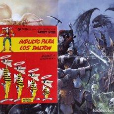 Cómics: LUCKY LUKE N13: INDULTO PARA LOS DALTON, DE MORRIS Y GOSCINNY (GRIJALBO/DARGAUD, 1980) TAPA DURA. Lote 170608630