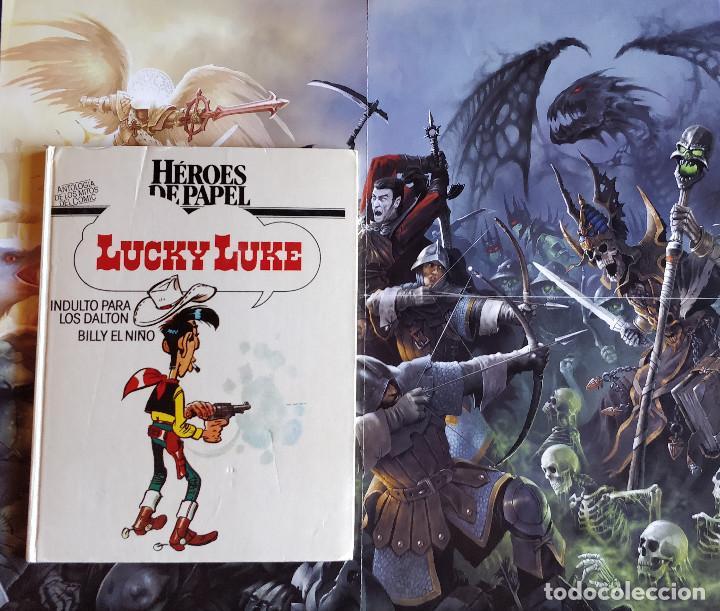 LUCKY LUKE - COLECCION HEROES DE PAPEL-ANTOLOGIA DE LOS MITOS DEL COMIC MORRIS / GOSCINY-TAPA DURA (Tebeos y Comics - Grijalbo - Lucky Luke)