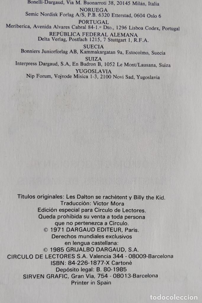 Cómics: LUCKY LUKE - COLECCION HEROES DE PAPEL-ANTOLOGIA DE LOS MITOS DEL COMIC MORRIS / GOSCINY-TAPA DURA - Foto 3 - 170619410