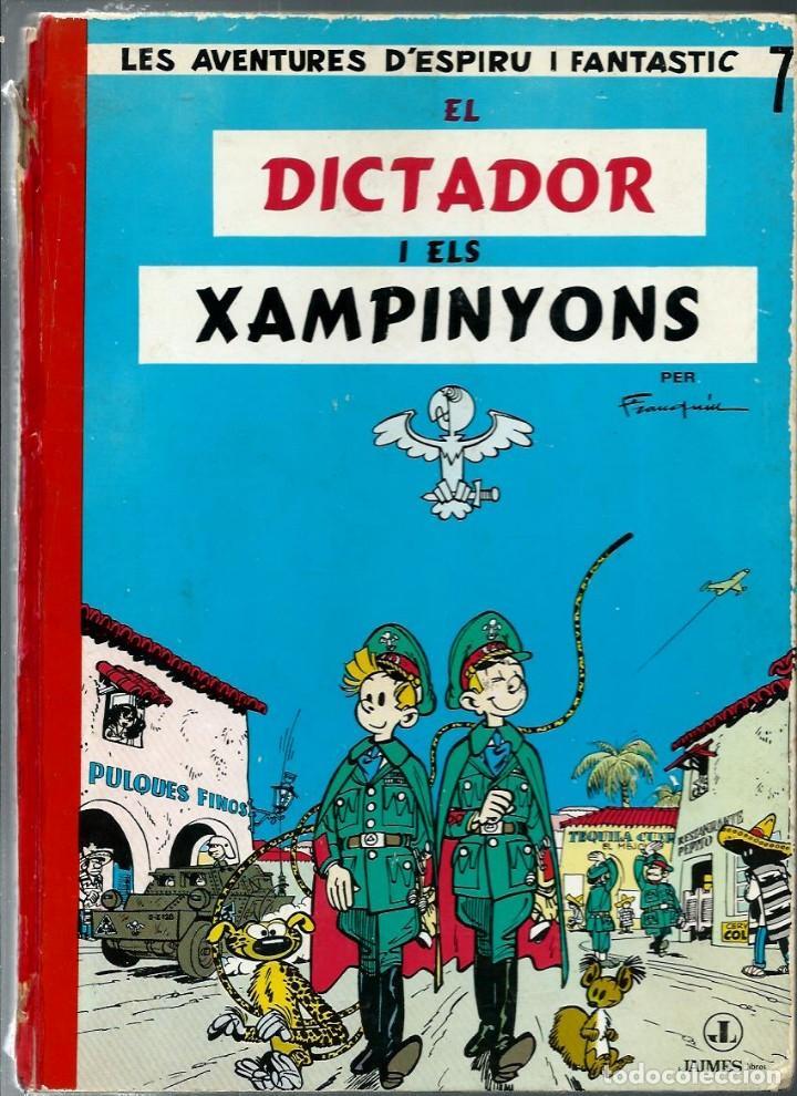 ESPIRU Nº 7 - SPIROU - EL DICTADOR I ELS XAMPINYONS - JAIMES 1969 - EDICIO PROHIBIDA PER LA CENSURA (Tebeos y Comics - Grijalbo - Spirou)