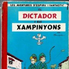Cómics: ESPIRU Nº 7 - SPIROU - EL DICTADOR I ELS XAMPINYONS - JAIMES 1969 - EDICIO PROHIBIDA PER LA CENSURA. Lote 170872510