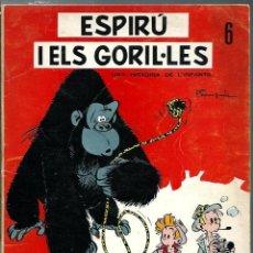 Cómics: FRANQUIN - ESPIRU I ELS GORIL·LES - COL·LECCIÓ LA XARXA Nº 6 - EN CATALA - TAPA TOVA - ANYS 60 - RAR. Lote 170873205