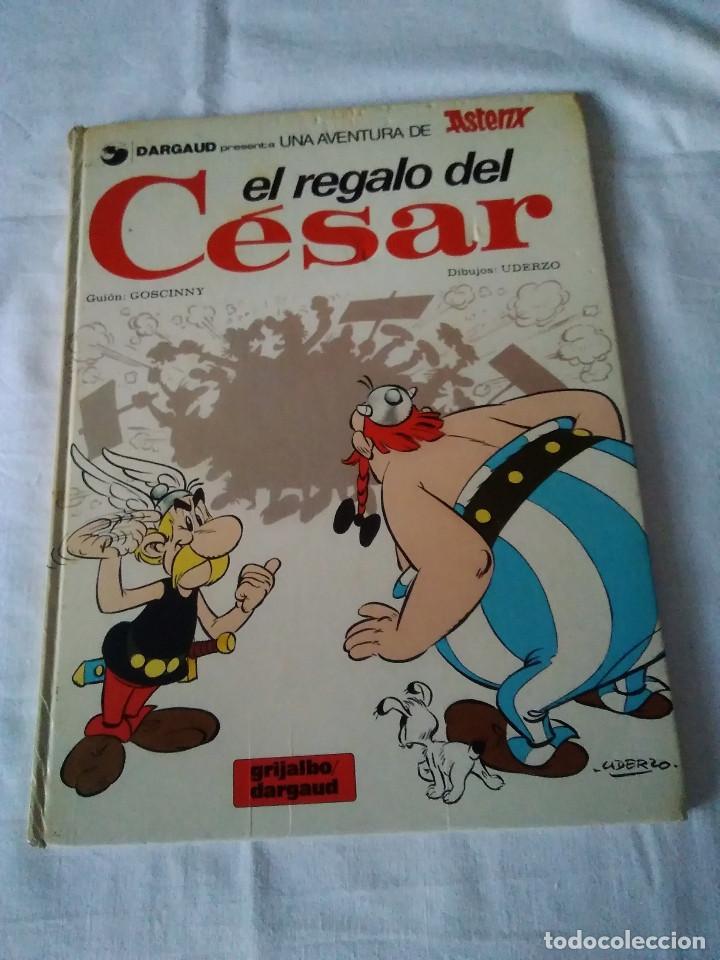 31-ASTERIX EL REGALO DEL CESAR, GRIJALBO 1980 (Tebeos y Comics - Grijalbo - Asterix)