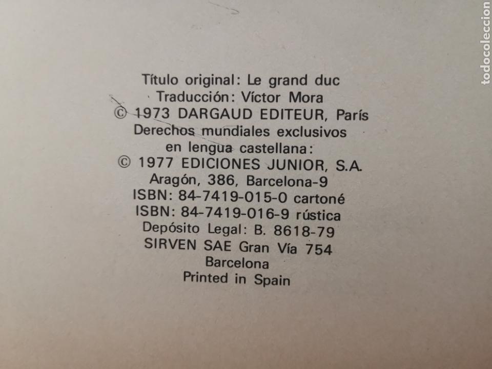 Cómics: LUCKY LUKE EL GRAN DUQUE 1977 Trad. VICTOR MÓRA JUNIOR GRIJALBO EXCELENTE - Foto 6 - 171124293