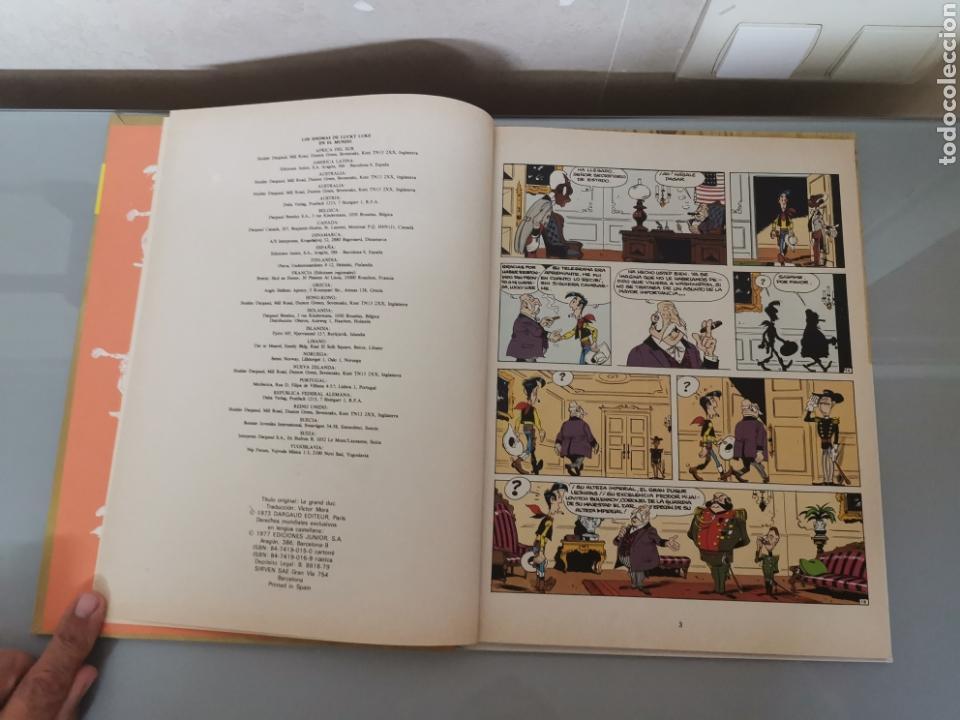 Cómics: LUCKY LUKE EL GRAN DUQUE 1977 Trad. VICTOR MÓRA JUNIOR GRIJALBO EXCELENTE - Foto 7 - 171124293