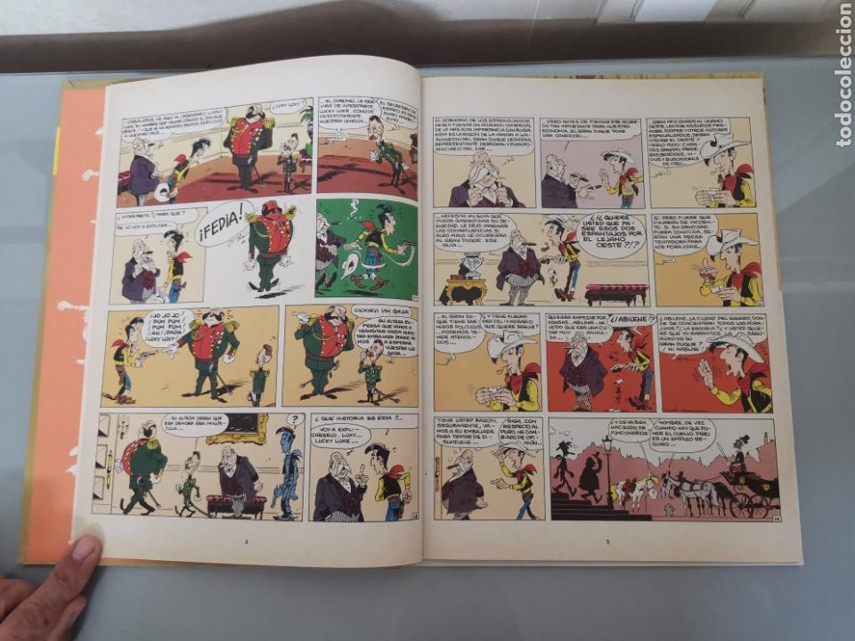 Cómics: LUCKY LUKE EL GRAN DUQUE 1977 Trad. VICTOR MÓRA JUNIOR GRIJALBO EXCELENTE - Foto 8 - 171124293