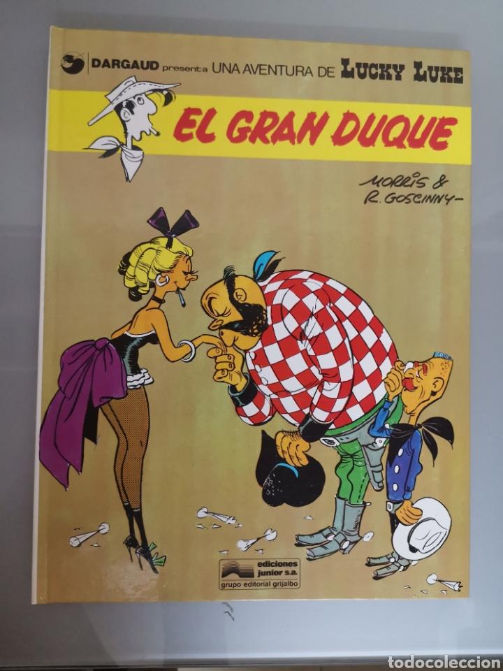 LUCKY LUKE EL GRAN DUQUE 1977 TRAD. VICTOR MÓRA JUNIOR GRIJALBO EXCELENTE (Tebeos y Comics - Grijalbo - Lucky Luke)