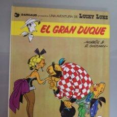 Cómics: LUCKY LUKE EL GRAN DUQUE 1977 TRAD. VICTOR MÓRA JUNIOR GRIJALBO EXCELENTE. Lote 171124293