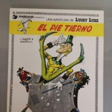 Cómics: LUCKY LUKE EL PIE TIERNO 1977 TRAD. VICTOR MÓRA JUNIOR GRIJALBO. Lote 171125213