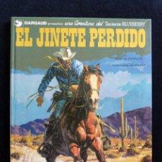 Cómics: TENIENTE BLUEBERRY, Nº 19. EL JINETE PERDIDO. CHARLIER Y GIRAUD. ED. GRIJALBO-DARGAUD, 1982. TAPA DU. Lote 171217962