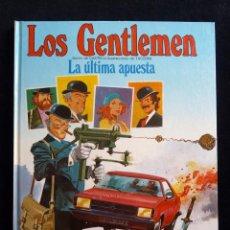 Cómics: LOS GENTLEMEN. CASTELLI Y TACCONI. TOMO 2, LA ÚLTIMA APUESTA. 1981. TAPA DURA. PERFECTO. Lote 171218239