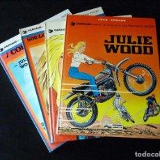 Cómics: LOS HERMANOS WOOD. JEAN GRATON. 4 NÚMEROS, COLECCIÓN COMPLETA. 1976-78. TAPA DURA. MUY BUENA CONSEVA. Lote 171218393