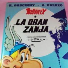 Cómics: COMIC-ASTERIX-LA GRAN ZANJA-1980-GOSCINNY/UDERZO-GRIJALBO-EXCELENTE-VER FOTOS. Lote 171269119