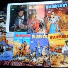 Cómics: TENIENTE BLUEBERRY 2 4 16 21 GRIJALBO LA JUVENTUD DE BLUEBERRY 40 41 NORMA. PORTES GRATIS.. Lote 171348027