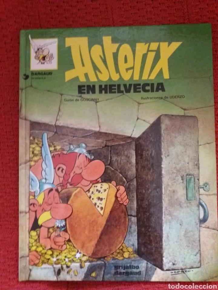 ASTÉRIX EN HELVECIA GRIJALVO DARGAUD 1987 (Tebeos y Comics - Grijalbo - Asterix)