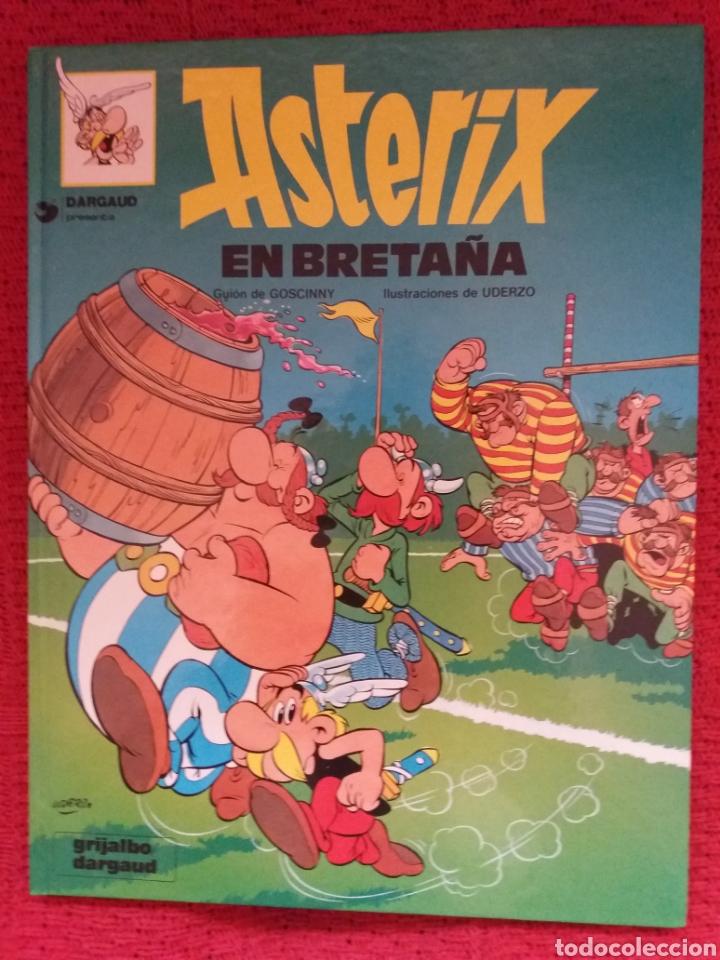 ASTÉRIX EN BRETAÑA GRIJALVO DARGAUD 1989 (Tebeos y Comics - Grijalbo - Asterix)