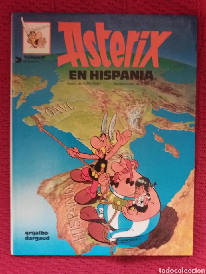 ASTÉRIX EN HISPANIA GRIJALVO DARGAUD 1987 (Tebeos y Comics - Grijalbo - Asterix)
