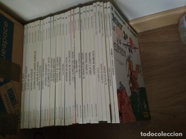Cómics: COLECCIÓN DE 29 TOMOS DE ASTERIX EN GRIJALBO/DARGAUD TAPA DURA - Foto 2 - 171474418
