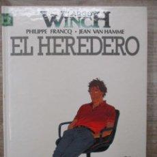 Fumetti: LARGO WINCH - EL HEREDERO - Nº1 - TAPA DURA - GRIJALBO. Lote 171518677