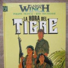 Fumetti: LARGO WINCH - LA HORA DEL TIGRE - Nº6 - TAPA DURA - GRIJALBO. Lote 171519027