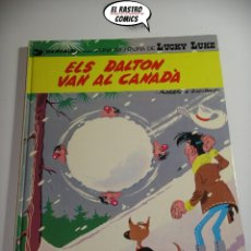 Fumetti: LUCKY LUKE ELS DALTON VAN AL CANADÀ, ED. GRIJALBO 1983, CATALÀ, CATALÁN. Lote 171544352