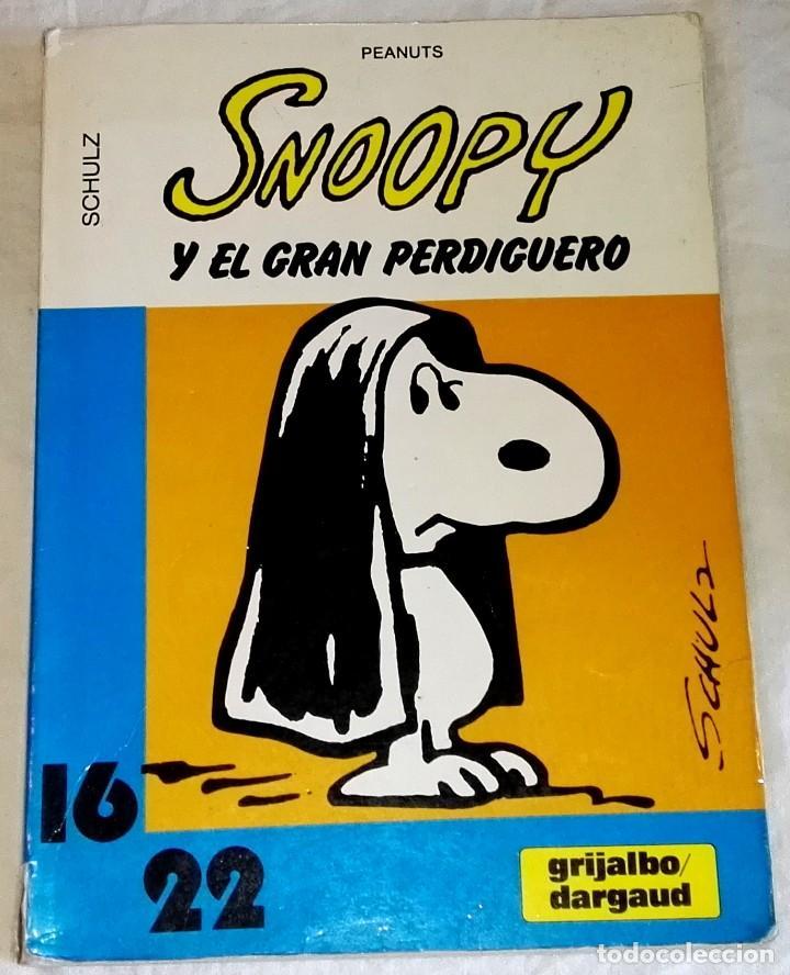 SNOOPY Y EL GRAN PERDIGUERO; SCHULZ - GRIJALBO/DARGAUD Nº17, 1985 (Tebeos y Comics - Grijalbo - Otros)