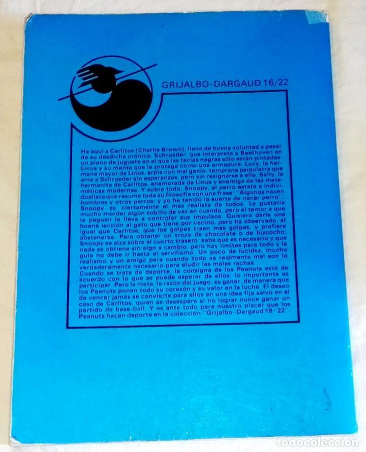 Cómics: Snoopy Y El Gran Perdiguero; Schulz - Grijalbo/Dargaud Nº17, 1985 - Foto 2 - 171576728
