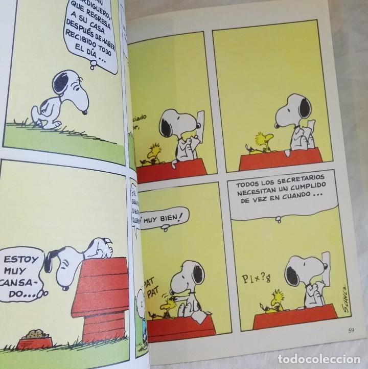Cómics: Snoopy Y El Gran Perdiguero; Schulz - Grijalbo/Dargaud Nº17, 1985 - Foto 4 - 171576728