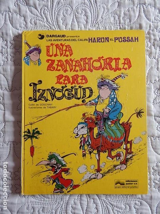 LAS AVENTURAS DEL CALIFA HARUN EL PUSSAH - UNA ZANAHORIA PARA IZNOGUD N. 1 (Tebeos y Comics - Grijalbo - Iznogoud)