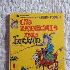 Cómics: LAS AVENTURAS DEL CALIFA HARUN EL PUSSAH - UNA ZANAHORIA PARA IZNOGUD N. 1. Lote 246522365