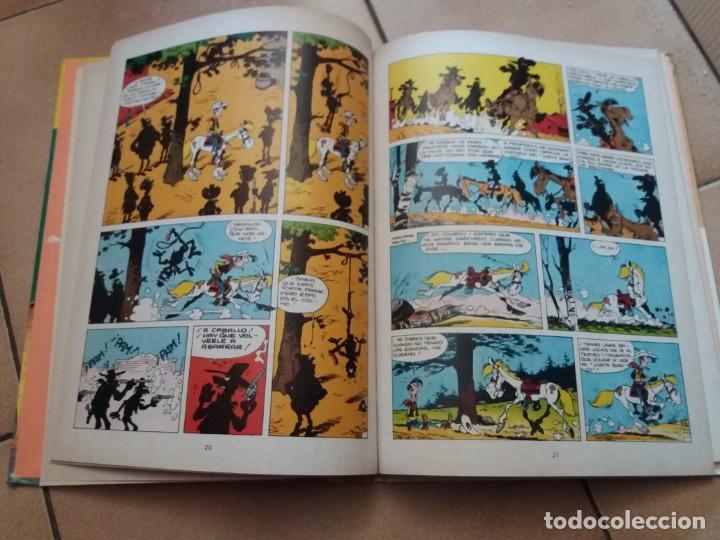 Cómics: El jinete blanco. Lucky Luke. Junior Grijalbo. N° 2. Morris. Tapa dura. Buen estado. - Foto 4 - 172001117