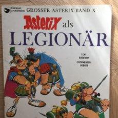 Cómics: ASTERIX LEGIONARIO EN ALEMÁN ( ASTERIX ALS LEGIONÄR). AÑO 1971. Lote 172008524