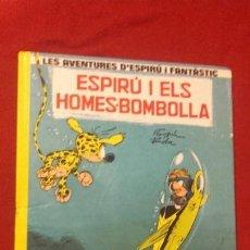 Fumetti: ESPIRU Y FANTASTIC 13 - ESPIRU I ELS HOMES-BOMBOLLA - FRANQUIN - CARTONE - EN CATALAN. Lote 172122464