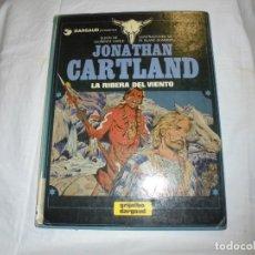 Cómics: JONATHAN CARTLAND Nº 3.-LA RIBERA DEL VIENTO.LAURENCE HARLE .GRIJALBO/DARGAUD 1985. Lote 172164842