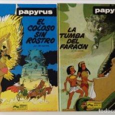 Comics : COLECCIÓN COMPLETA PAPYRUS GRIJALBO + MOMIA SEPULTADA (9 NÚMEROS). Lote 172270842