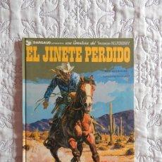 Cómics: UNA AVENTURA DEL TENIENTE BLUEBERRY - EL JINETE PERDIDO N.19. Lote 172384639