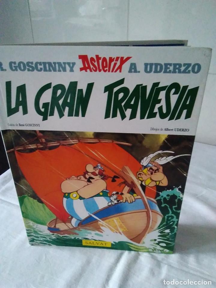 25-ASTERIX, LA GRAN TRAVESIA, SALVAT, 2005 (Tebeos y Comics - Grijalbo - Asterix)