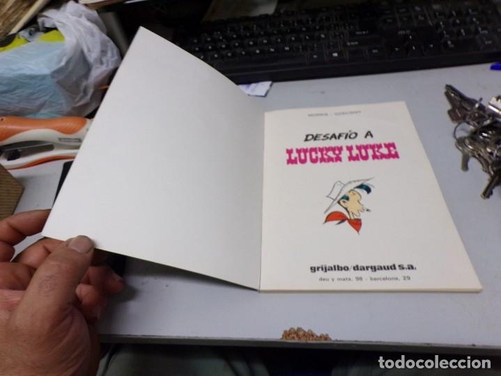 Cómics: tebeo desafio a lucky luke grijalbo muy buen estado - Foto 2 - 172696738
