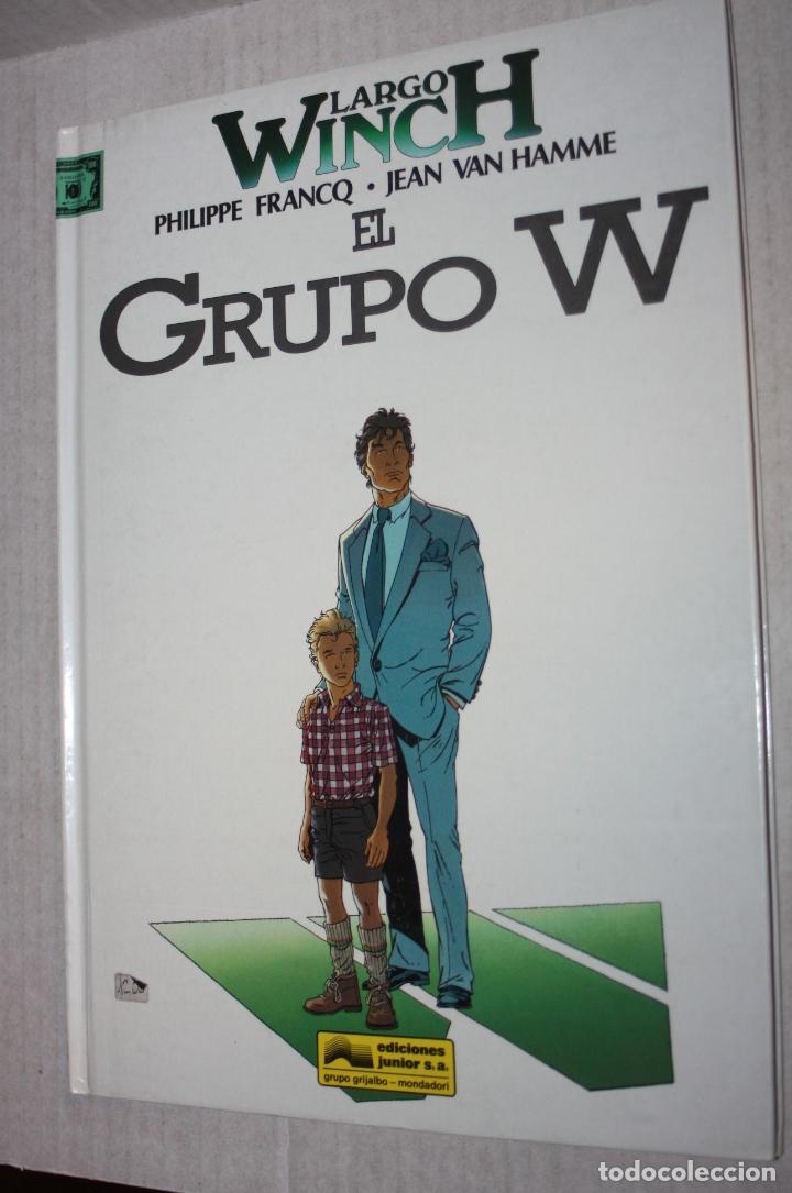 LARGO WINCH Nº 2 : EL GRUPO W. (MEJOR PRECIO) (Tebeos y Comics - Grijalbo - Largo Winch)